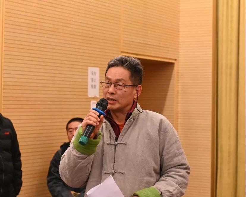 中国国家画院美术馆徐水平发言并提问