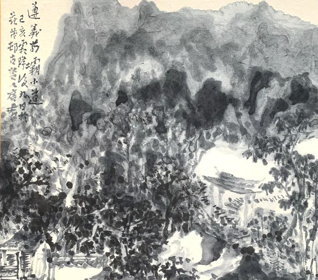苟坝小道 20x20cm 卡片 2019年