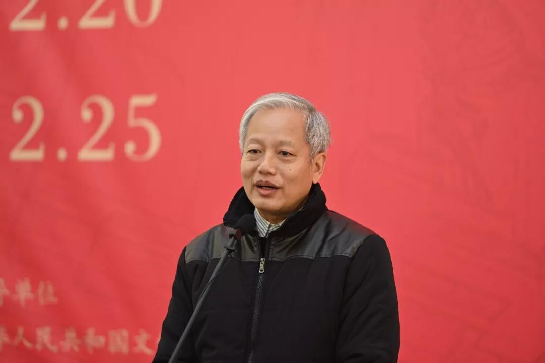 澳门美术家协会理事谭植桓致辞
