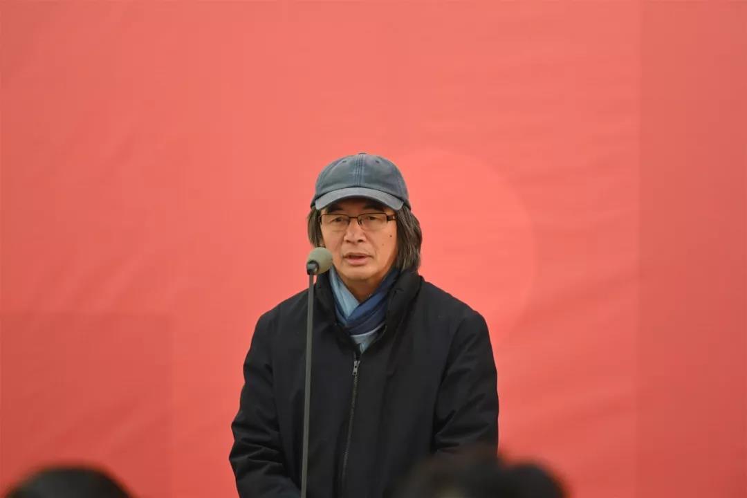 导师林容生讲话