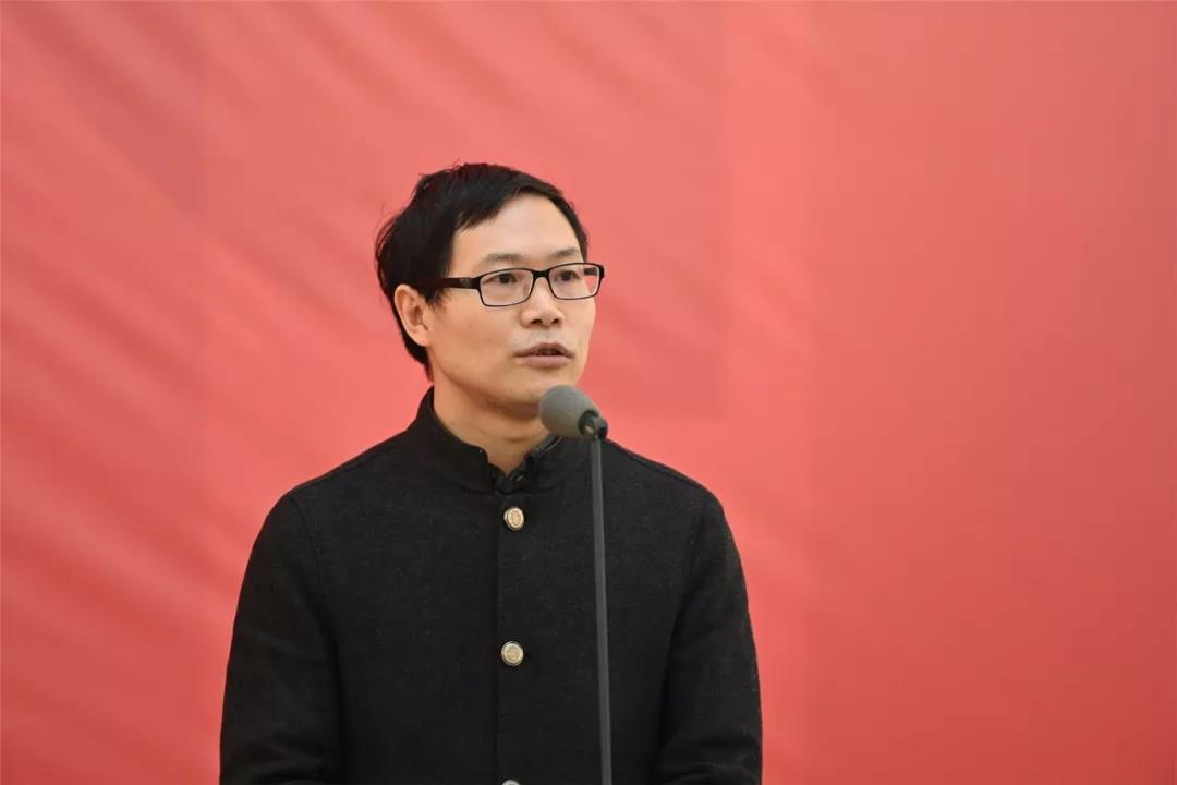 中国国家画院党委书记张士军书记讲话