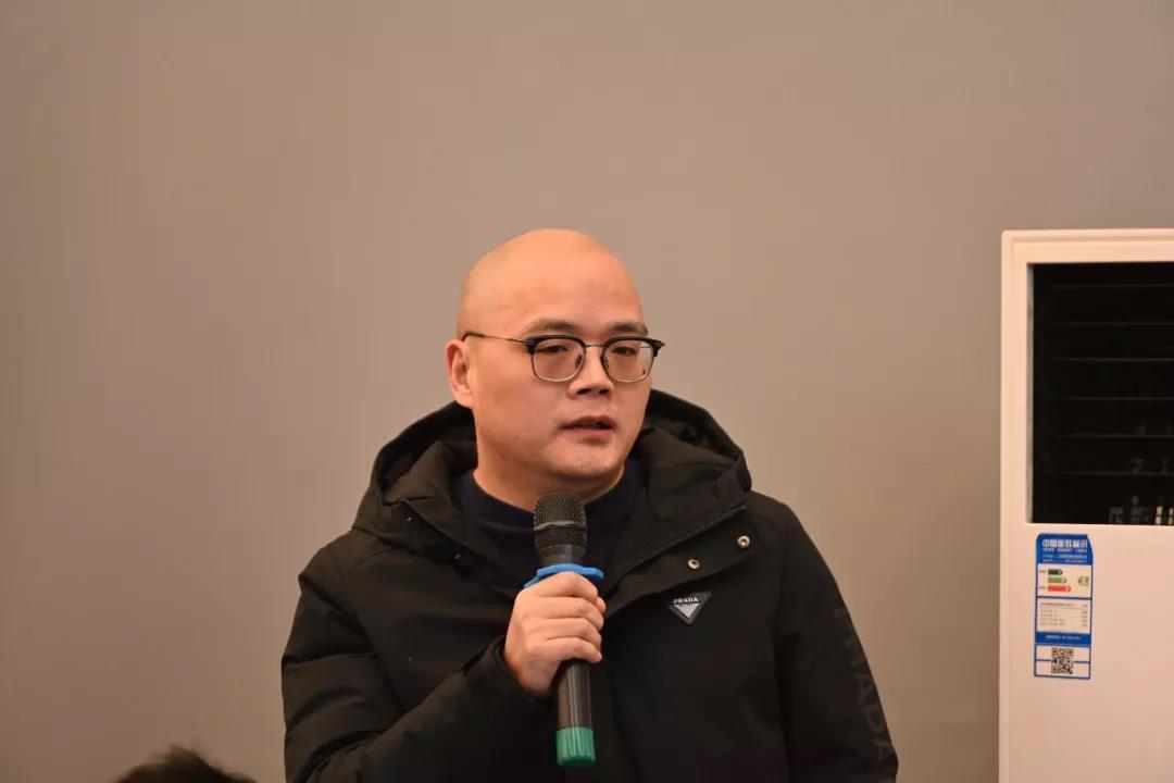 中国国家画院创研规划处唐朝轶发言并提问