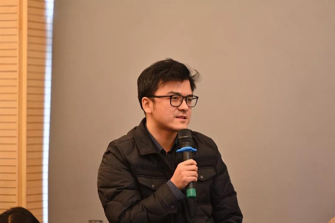 中国国家画院创研规划处负责人董雷发言并提问