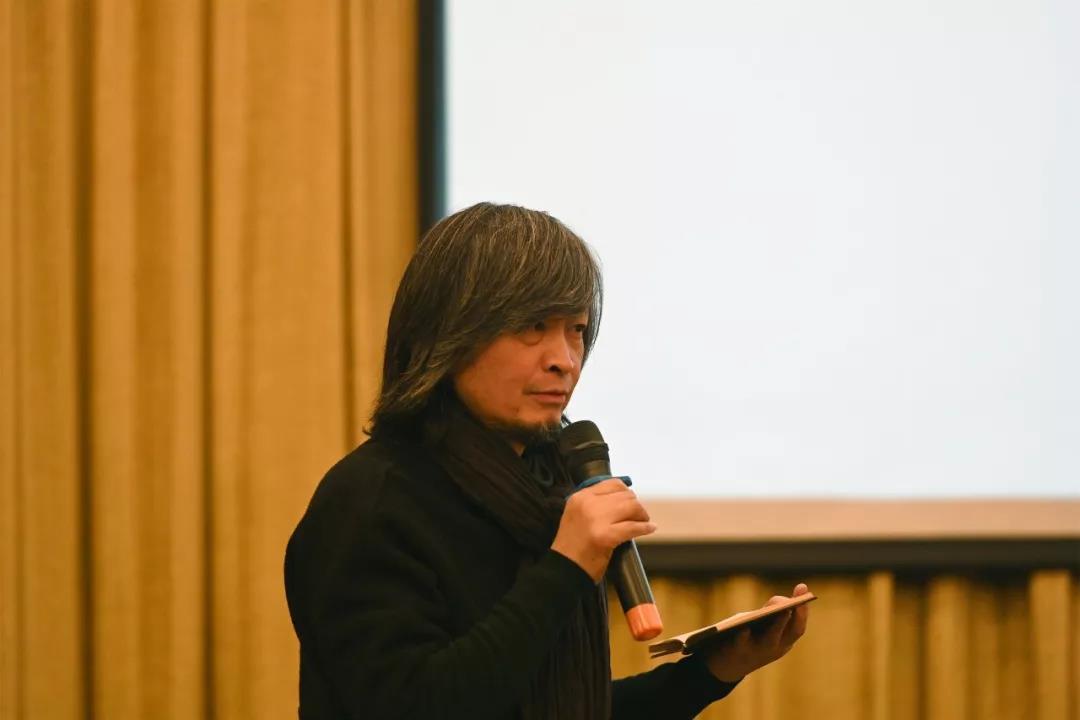 学术日主持人、中国国家画院美术馆馆长何加林