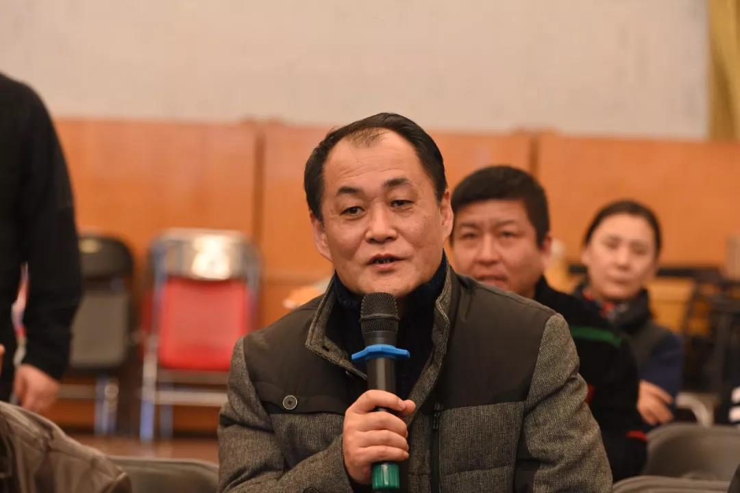 中国国家画院理论研究所理论家高天民发言