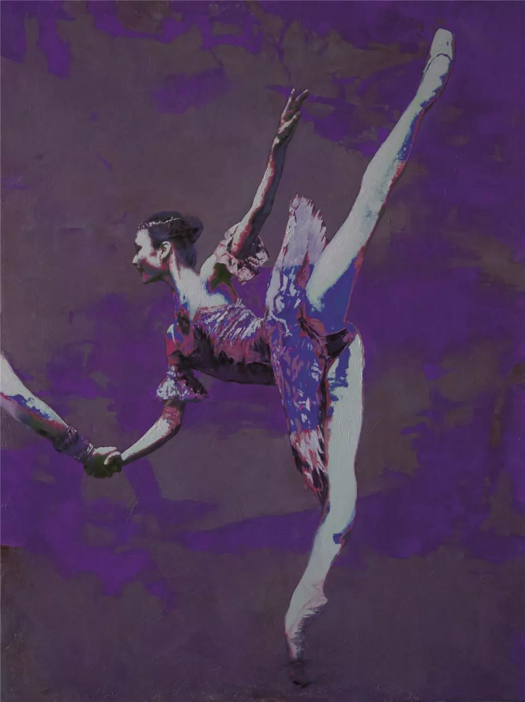 张苑  芭蕾  136cm×100cm 2019年