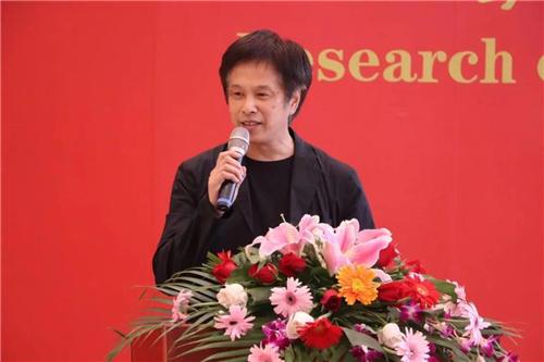 中国国家画院原副院长赵卫致辞