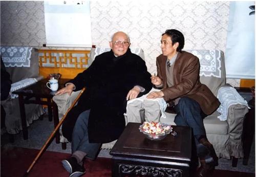 李可染先生和刘勃舒