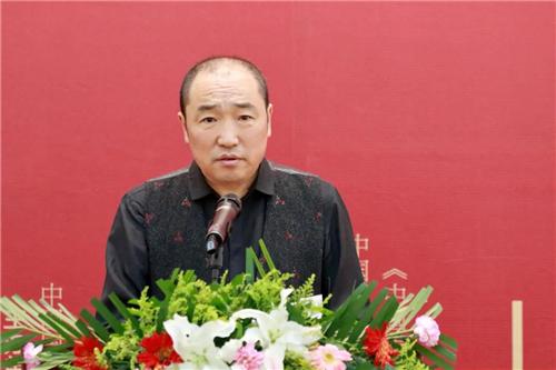 中国国家画院院长卢禹舜致辞